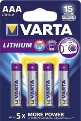 Professional Lithium Batterien - Micro/AAA, 1,5 V