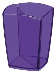 Stifteköcher Happy - violett, 74 x 74 x 95 mm