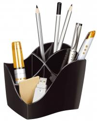 Multiköcher Ellypse - schwarz, 89 x 98 x 118 mm