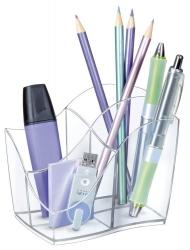 Multiköcher Ellypse - glasklar, 89 x 98 x 118 mm