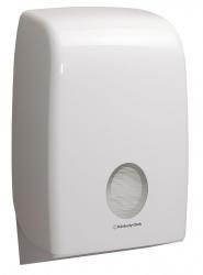 AQUARIUS* Handtuchspender Interfold - weiß - f. Formathandtücher, Modell 6945