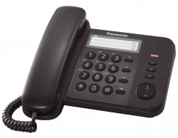 Telefon KX-TS520GB - schnurgebunden, schwarz