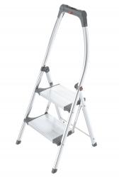 LivingStep Comfort plus - 2 Stufen, Klapptritt mit Soft-Grip Sohle