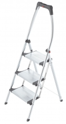 LivingStep Comfort plus - 3 Stufen, Klapptritt mit Soft-Grip Sohle