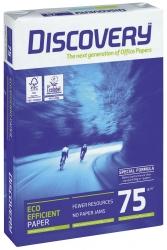 Kopierpapier Discovery - A4, holzfrei, 75g/qm, weiß, 2-fach gelocht, 500 Blatt