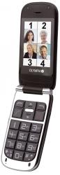 Komfort-Mobiltelefon BECCO Plus mit Großtasten und Farb-LC-Display, schwarz