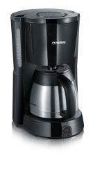 Kaffeemaschine SELECT, schwarz-Edelstahl-gebürstet