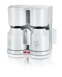 Duo Kaffeemaschine - Thermo, weiß