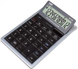 Tischrechner LEO-DK-124T - 12-stellig, bewegliches Display