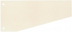 Trennstreifen Trapez - 190 g/qm Karton, chamois, 100 Stück