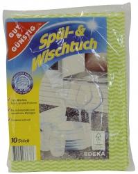 Spül-und Wischtuch - 10 Stück