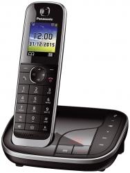 Telefon KX-TGJ320GB - 1Mobilteil, schnurlos, schwarz, Nachfolger von Artikel 200745