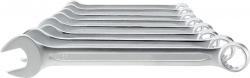 Ringmaulschlüssel-Satz DIN3113A - 8-teilig, 8-19 mm, verchromt