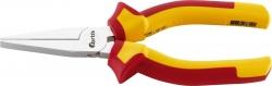 Flachzange VDE - 160 mm, rot/gelb