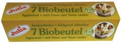 Biofolienbeutel - 10 Liter, grün, 7 Stück
