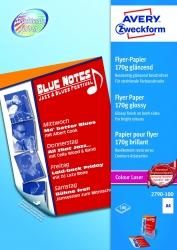 2790-100 Colour Laser Flyer-Papier, DIN A4, beidseitig beschichtet - glänzend, 170 g/qm, 100 Blatt