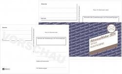 2824 Adressaufkleber/Paketaufkleber, DIN A6, selbstklebend, 100 Blatt, weiß