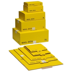 Post-Versandkarton Größe XL - gelb