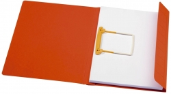 Schnellhefter Clip-Mappe Secolor - A4, rot