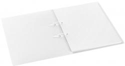 Schnellhefter mit Stripbinder - 2 Strips, 100 Blatt, weiß