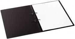 Schnellhefter mit Stripbinder - 2 Strips, 100 Blatt, schwarz
