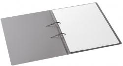 Schnellhefter mit Stripbinder - 2 Strips, 100 Blatt, silber