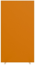 Trennwand - 160 cm, orange