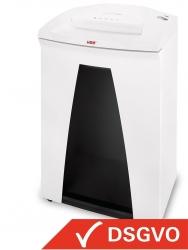 Aktenvernichter SECURIO B34, weiß, Partikelschnitt 1,9 x 15 mm, 12-13 Blatt