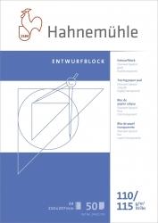 Transparentblock - A4, 110/115 g/qm, 50 Blatt