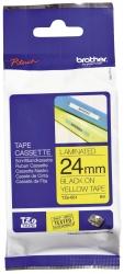 TZe-651 Schriftbandkassette - laminiert, 24 mm x 8 m, schwarz auf gelb