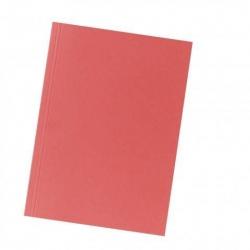 Aktendeckel A4 rot, Manilakarton 250 g/qm