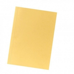 Aktendeckel A4 gelb, Manilakarton 250 g/qm