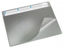 Schreibunterlage DURELLA soft - 65 x 50 cm, grau