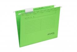 Hängemappen Serie E - grün, inkl. Vollsichtreiter und Blankoschildchen