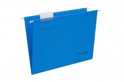 Hängemappen Serie E - blau, inkl. Vollsichtreiter und Blankoschildchen