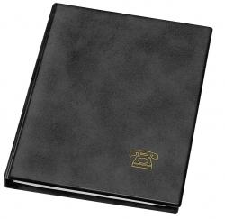 Telefonringbuch - A5, schwarz