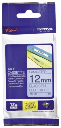TZe-531 Schriftbandkassette - laminiert, 12 mm x 8 m, schwarz auf blau