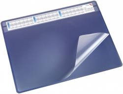 Schreibunterlage DURELLA soft - 65 x 50 cm, blau