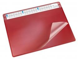 Schreibunterlage DURELLA soft - 65 x 50 cm, rot