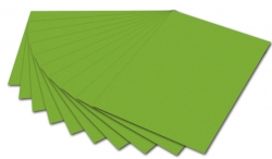 Fotokarton - A4, 300 g/qm, grün, 50 Blatt