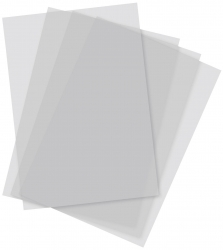 Transparentbogen - transparentes Zeichenpaier, 250 Blätter, A4, 110/115 g/qm