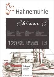 Skizzenblock S A5 120 g/qm 50 Blatt