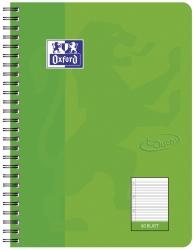 Collegeblock Touch - B5, 80 Blatt, 90 g/qm, liniert, grasgrün