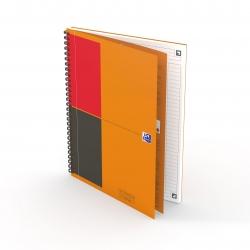 Notebook Connect - Collegeblock, B5, liniert, 80 Blatt, Hardcover, 4 Eckmarkierungen zum scannen