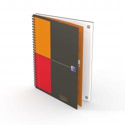 Notebook Connect - Collegeblock, B5, kariert, 80 Blatt, Hardcover, 4 Eckmarkierungen zum scannen