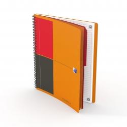 Activebook Connect - Collegeblock, B5, liniert, 80 Blatt, Softcover, 4 Eckmarkierungen zum scannen