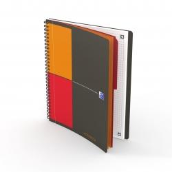 Activebook Connect - Collegeblock, B5, kariert, 80 Blatt, Softcover, 4 Eckmarkierungen zum scannen