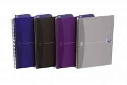 Spiralnotizblock Essentials - B5, liniert, 90 Blatt, sortiert
