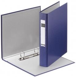 4213 Standard Ringbuch - A5, 25mm, 2 Ringe, PP, blau