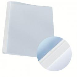 39210 Thermobindemappe Leinenoptik, A4, Rückenbreite 1,5 mm, 100 Stück, weiß
